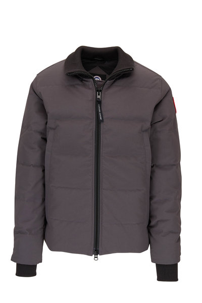 Canada Goose - Woolford Graphite Quilted Down Jacket