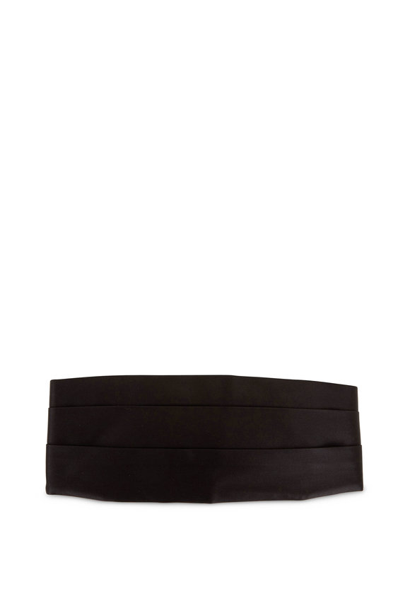 Tom Ford Black Satin Cummerbund