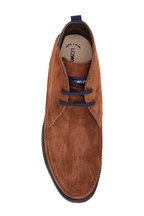 Lowhite - Florence Brown Suede Lace-Up Boot