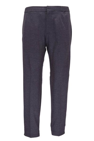 Ermenegildo Zegna - Gray Wool Banded Hem Pant