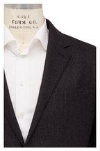 Ermenegildo Zegna - Black Cashmere & Angora Check Sportcoat