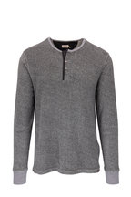 Faherty Brand - Charcoal Marl Terry Henley