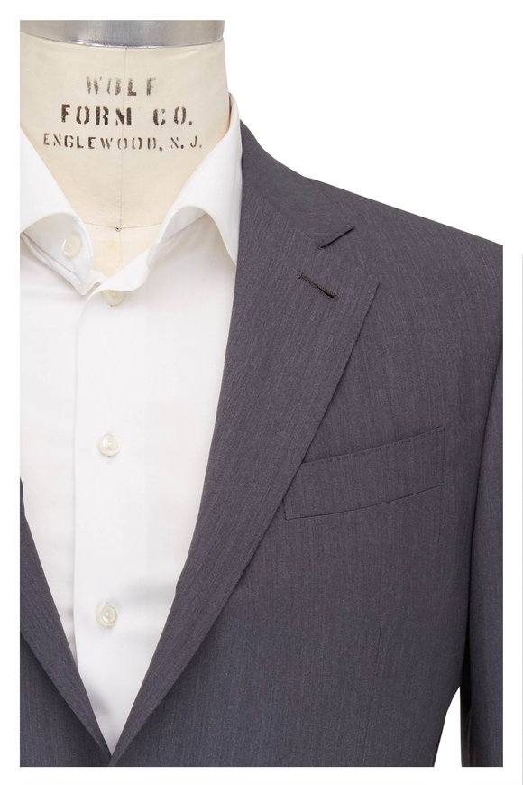 Ermenegildo Zegna Light Gray Wool Suit