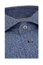 Corneliani - Chambray Flower Bud Sport Shirt