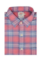 Faherty Brand - Seaview Red & Blue Plaid Flannel Sport Shirt