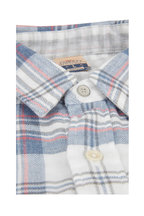 Faherty Brand - Reversible Heather Plaid Sport Shirt