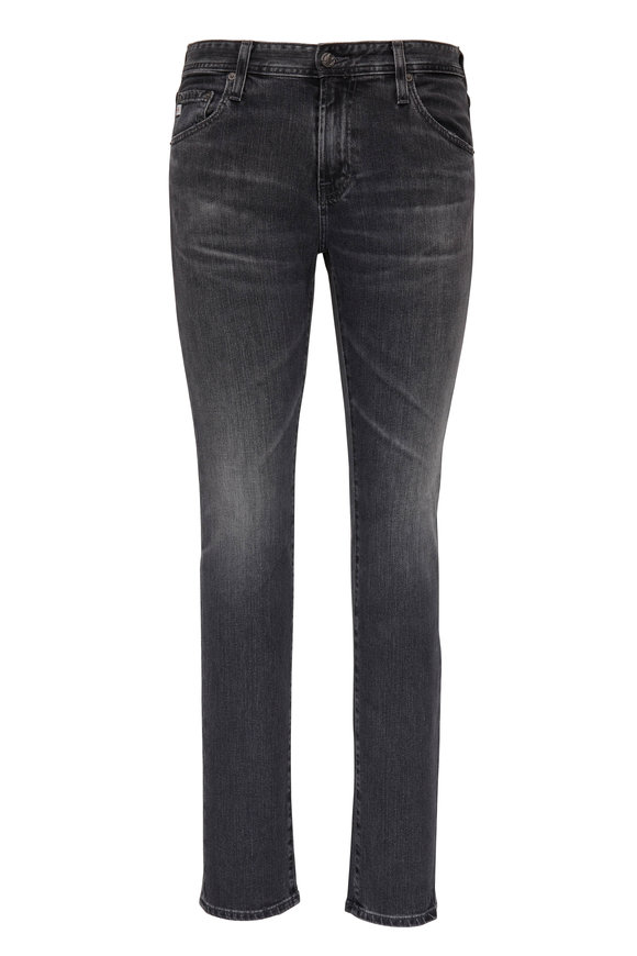AG - Adriano Goldschmied The Tellis Washed Black Modern Slim Jean