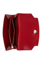 The Row - Lady Ruby Red Softbox Wallet