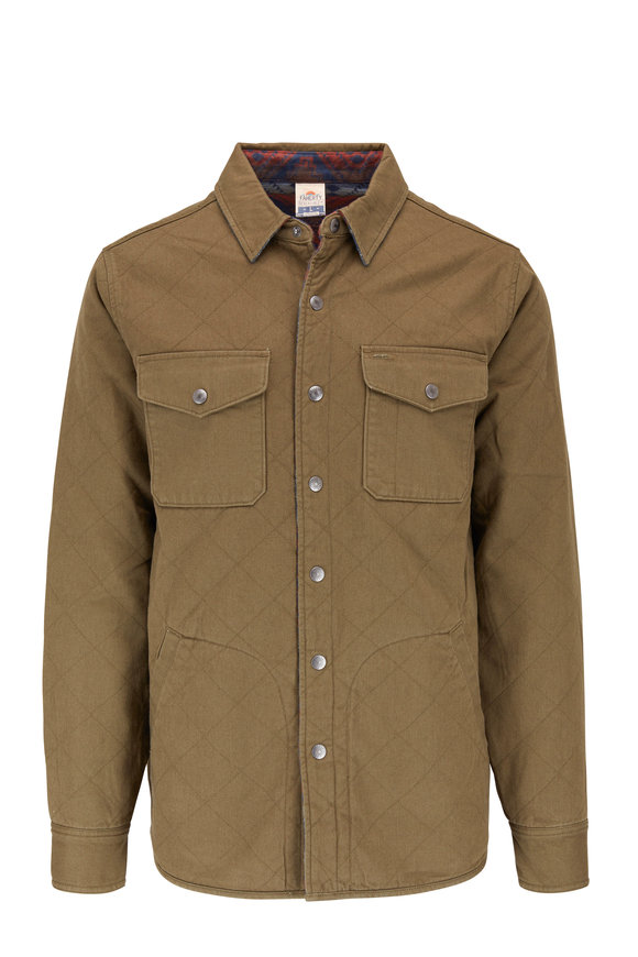 Faherty Brand Bondi River Glade Reversible Jacket