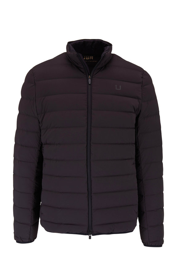 UBR Sonic Black Quilted Down Jacket