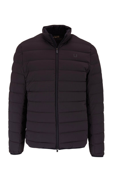 UBR - Sonic Black Quilted Down Jacket