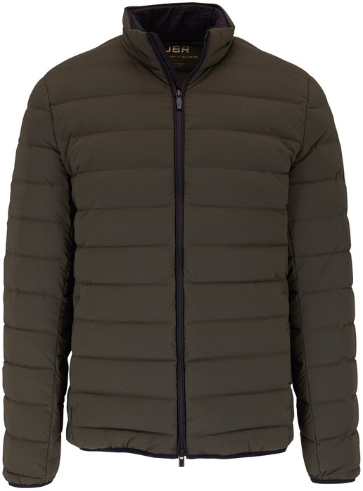 UBR Sonic Night Olive Quilted Down Jacket