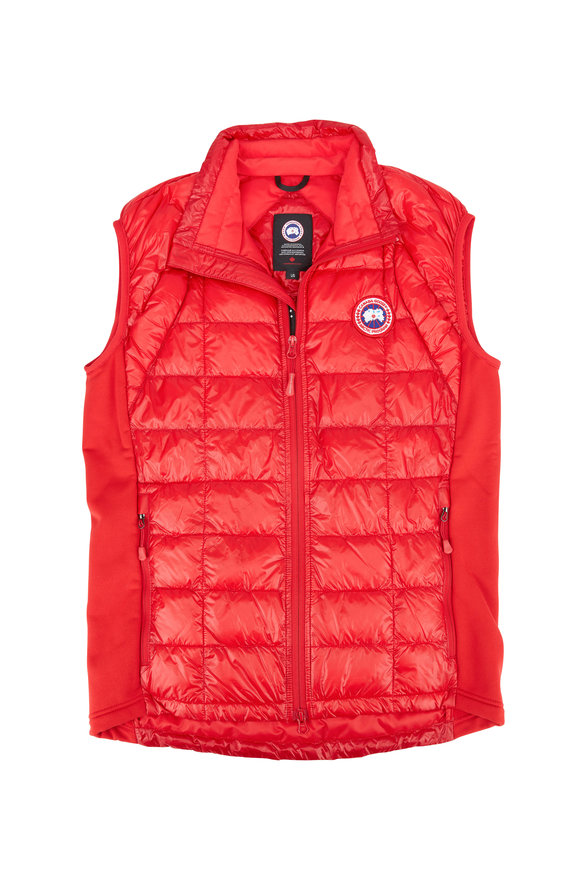 Canada Goose Red Hybridge Lite Down Vest