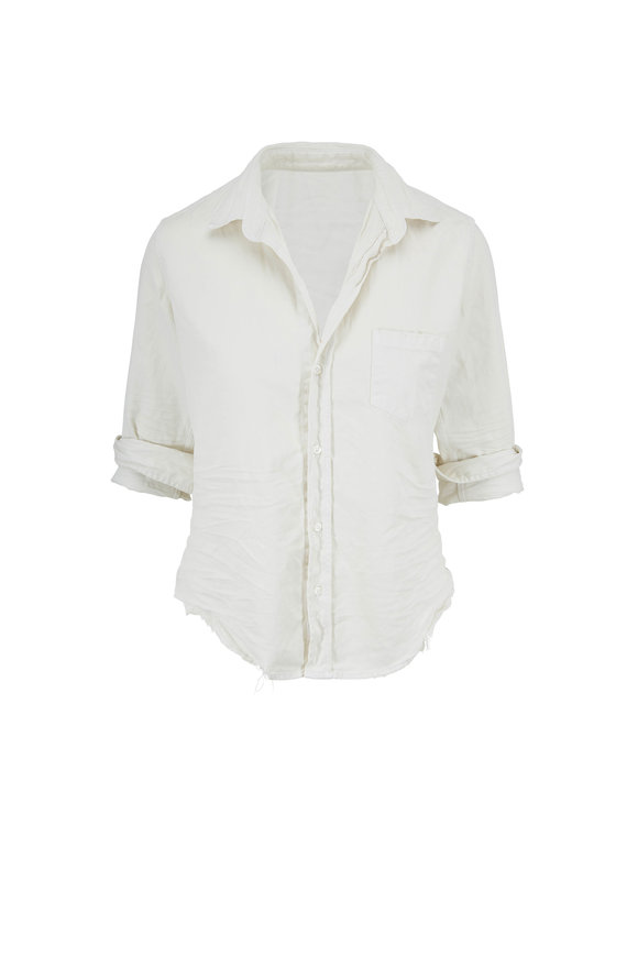 Frank & Eileen Barry Vintage White Button Down