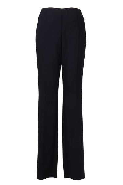 Akris - Black Wool Slim Pants