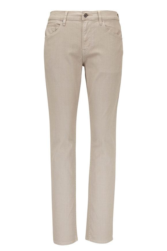 Hudson Clothing Blake Light Gray Slim Straight Jean