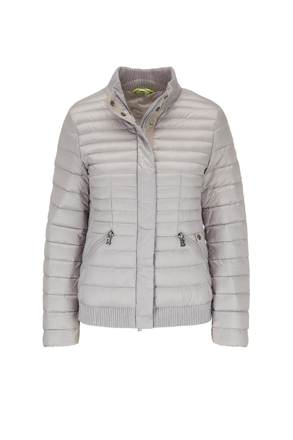 Bogner Kristy Light Gray Lightweight Down Jacket