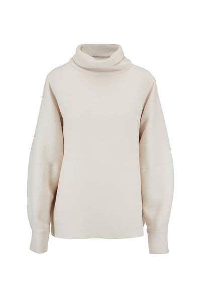 The Row - Makie Ivory Turtleneck Blouse