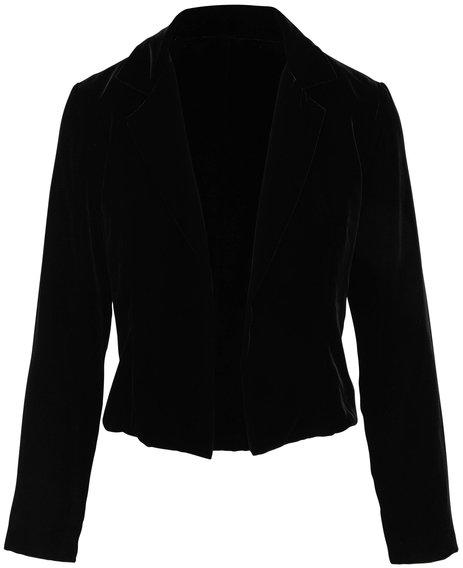 Peter Cohen Levee Black Velvet Jacket