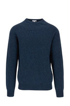 Sunspel - Petrol Crewneck Lambswool Sweater