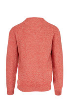 Sunspel - Persimmon Wool Crewneck Sweater