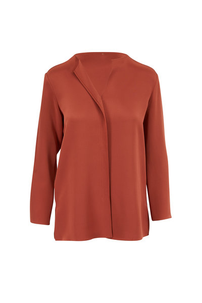 Peter Cohen - New Ethnic Paprika Silk Top