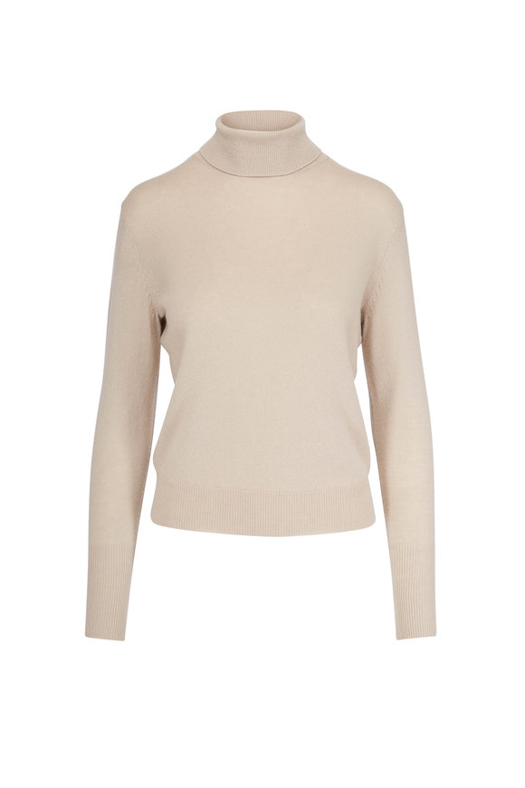 Nili Lotan Raphine Stone Turtleneck Sweater