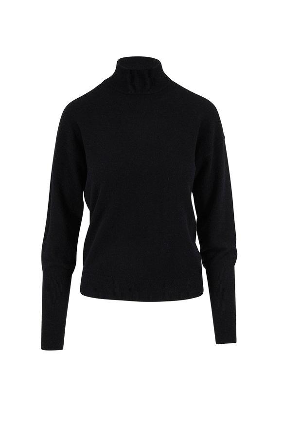 Jonathan Simkhai Black Cashmere V-Back Sweater