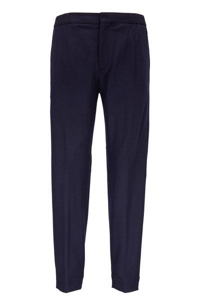 Ermenegildo Zegna - Navy Flannel Jogger Pant