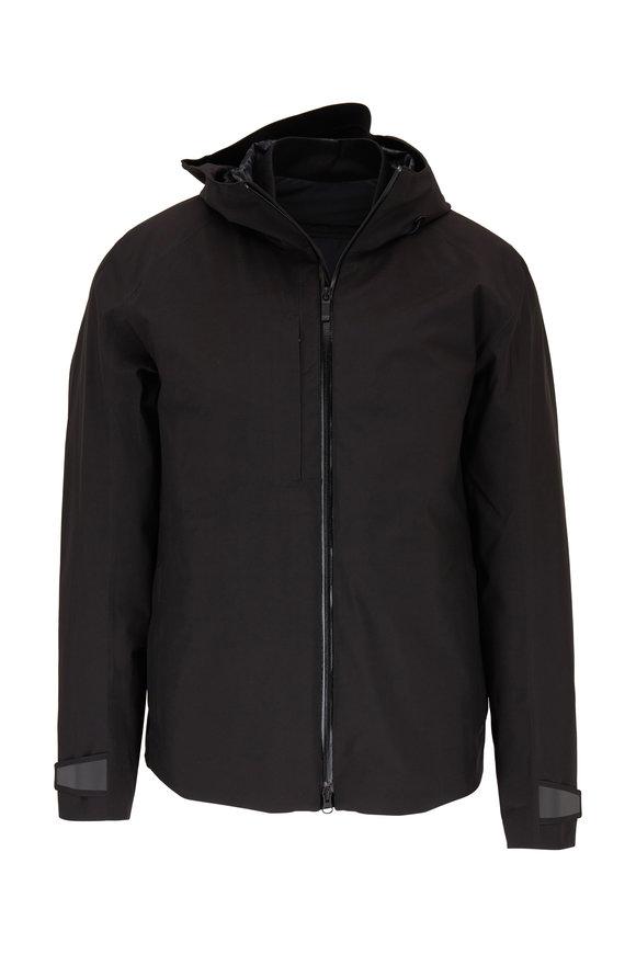 Z Zegna Black 3-In-1 Hooded Coat