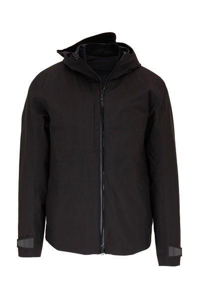 Z Zegna - Black 3-In-1 Hooded Coat