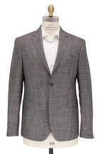Maurizio Baldassari - Gray & Tan Windowpane Sportcoat