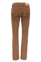 PT Pantaloni Torino - Jazz Tan Five Pocket Corduroy Pant