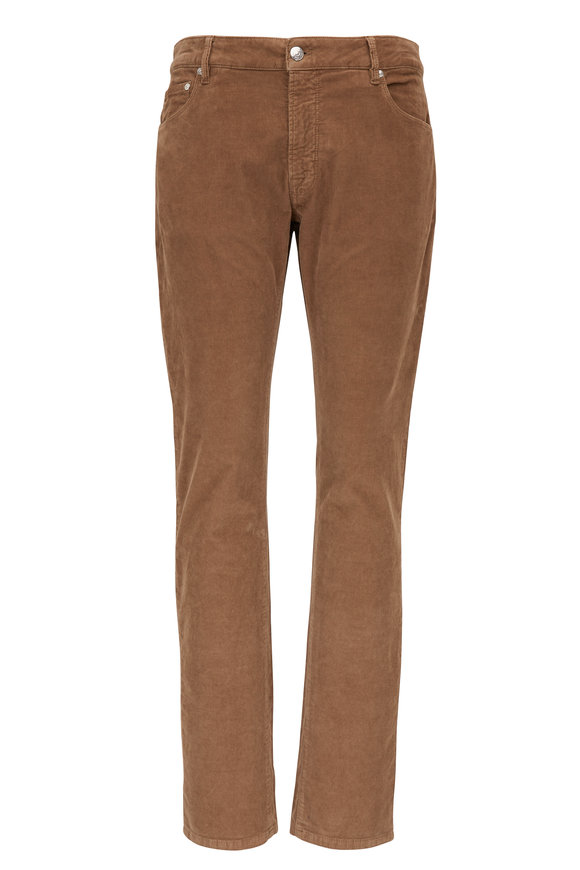 Jazz Tan Five Pocket Corduroy Pant