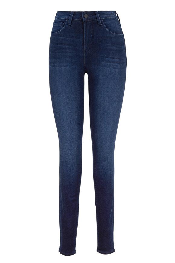 L'Agence Marguerite Marino Blue High-Rise Skinny Jean