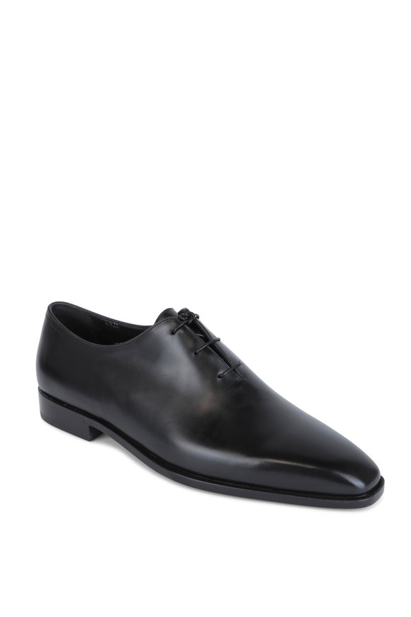 Berluti Black Leather Dress Shoe