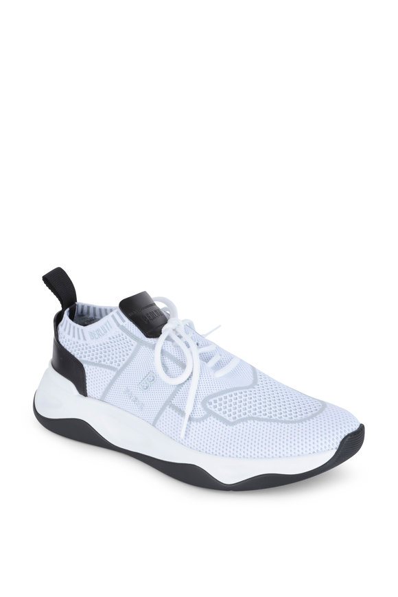 Berluti Shadow White Knit Sneaker