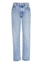 Moussy - Norwalk Straight Leg Distressed Jean