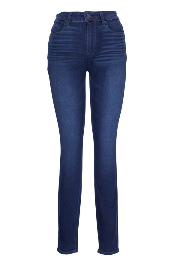 Paige Denim Hoxton Paradise Cove High Rise Skinny Jeans