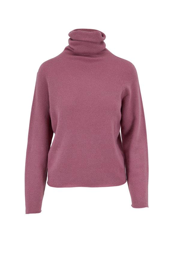 Vince Amarena Cashmere Seemless Turtleneck Sweater