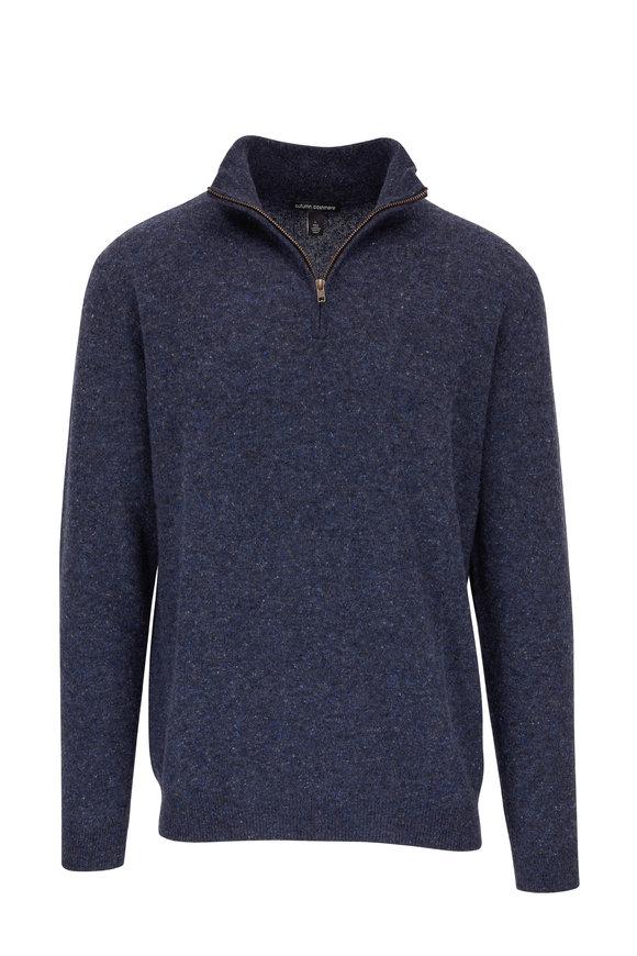 Autumn Cashmere Nightsky Cashmere Quarter-Zip Pullover
