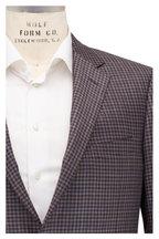 Samuelsohn - Brown & Gray Plaid Wool Sportcoat
