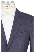 Boglioli - Solid Navy Blue Cashmere Sportcoat