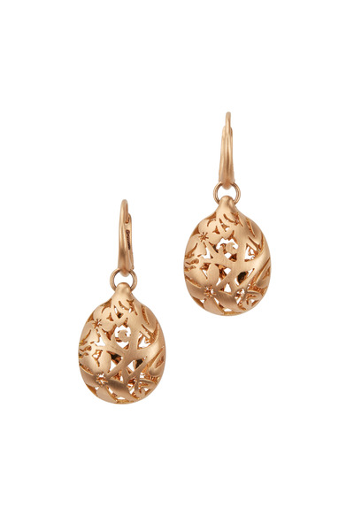 Pomellato - Arabesque Rose Gold Dangle Earrings
