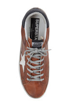 Golden Goose - Men's Superstar Cognac Leather Sneaker