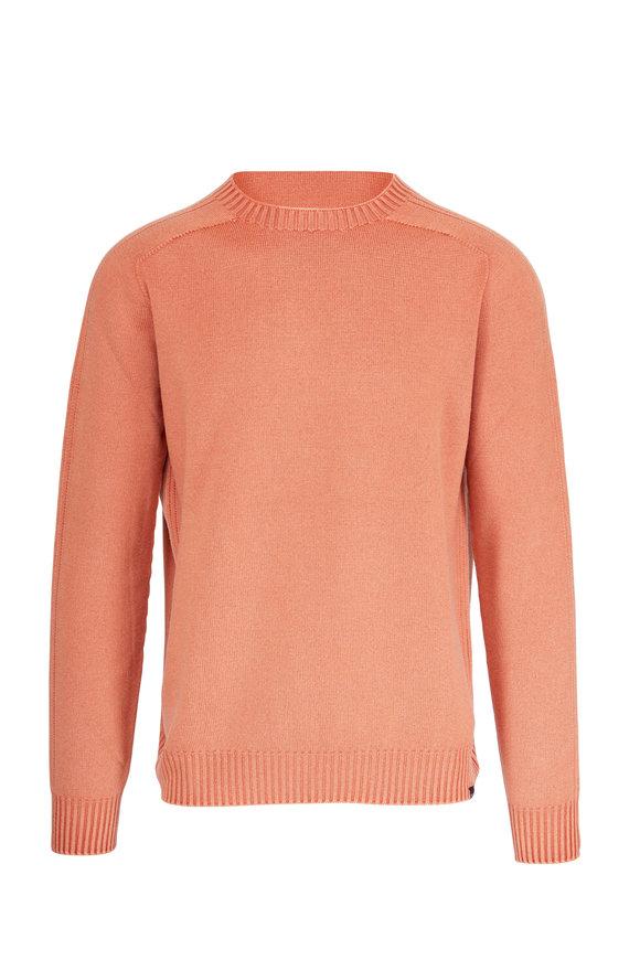 04651/ Foggy Brick Wool Crewneck Sweater