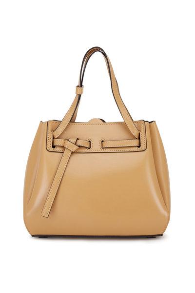Loewe - Lazo Dune Leather Mini Bag