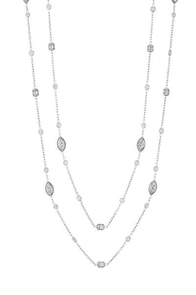 Penny Preville - 18K White Diamond Rondell Chain