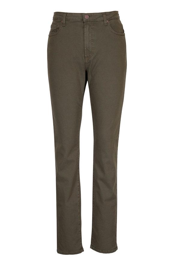 Monfrere Deniro Aberdeen Olive Straight Leg Jean