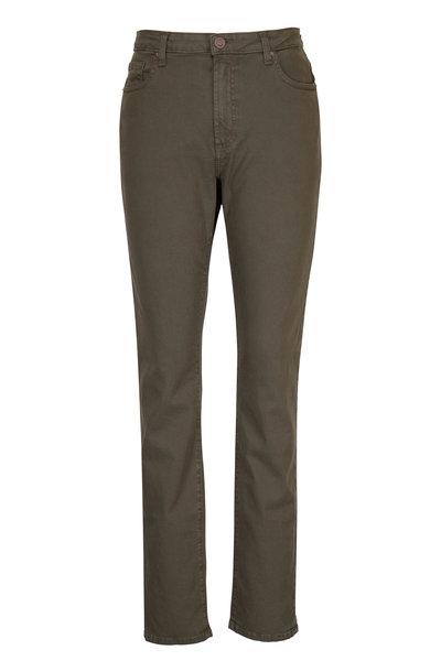 Monfrere - Deniro Aberdeen Olive Straight Leg Jean